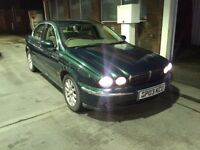 2003(03) JAGUAR X-TYPE 2.5 V6 SE MANUAL SALOON,FJSH,1 DOCTOR OWNER,LEATHER,MOT,BARGAIN(bmw,ford,audi