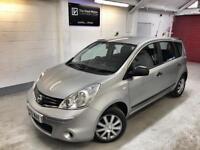 🌟🌟 Nissan Note Visia 1.4i. FSH. 59 reg. Only 44,555 miles only. Px & FINANCE. Warranty. 🌟🌟