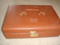 Compendium of Games Set- London Gift Company -Leather Type Case-
