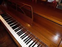 upright piano by schumann desk type excellent