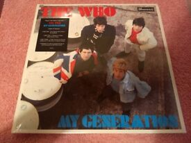 The Who - My Generation - Ltd Triple LP Edition - Brand New