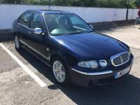 2004 ROVER 45 1.8 AUTOMATIC CONNOISSEUR ONLY 85,000 MILES, HEATED LEATHER, MOT FEBRUARY 2019