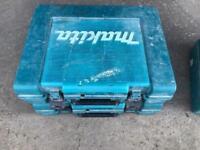 Makita boxes.