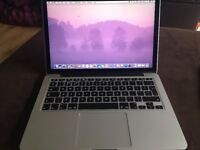Apple MacBook Pro 2.7 Ghz i5 8GB 128GB 2015 9 months old Excellent Condition