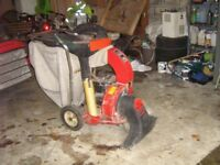 Leaf Blower and Collector