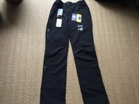 ICEPEAK - AS NEW WITH TAGS - WARM, TECHNICAL WALKING TROUSERS - WOMANS SIZE 10