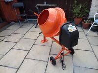 concrete mixer (electric) 70L
