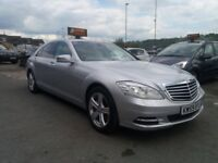 Mercedes-Benz S350L CDI BlueEFFICIENCY Limousine 7G-Tronic FULL SERVICE HISTORY+HUGE SPEC 2010