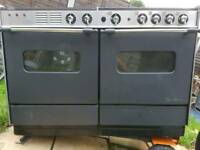 REDUCED! Rosieres paul bocuse range cooker with extractor grill oven gas electric delivered today