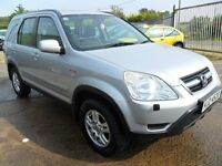 honda crv 2,0 sport jeep 2004 5 door silver full years mot