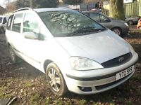 2001 Ford Galaxy 2.3 Ghia silver manual BREAKING FOR SPARES