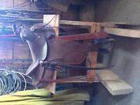 Kids ranch saddle