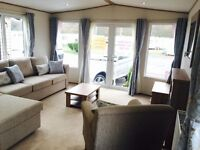 luxury static caravan for sale on 12 month season luxury holiday park, full start up pack included
