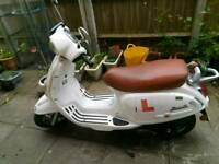 Scooter CPI BRAVO 125 WHITE