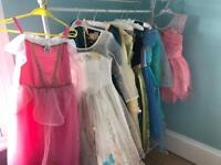 Disney Princess dresses + accessories most age 9-10 priced as bundle or Individually