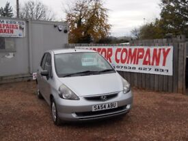 HONDA JAZZ 2004 54 1.3 LTR PETROL 1 YEAR FRESH MOT WARRANTIED CLEAN CAR!!!