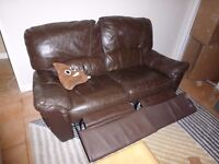Free 2 seater recliner sofa