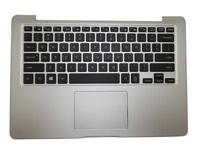 For Samsung NP740U3L US Keyboard Palmrest Cover BA98-00796A Backlit Touchpad New