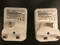 ZyXel power line adapter