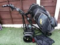 Powakaddy fw2. Powakaddy 14 way Golf Bag. Battery & charger