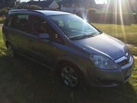 Vauxhall zafira 1.6 2008 80k HPI clear