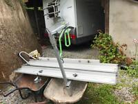 Armitage motorcycle/ scooter rack for motor home / mpv