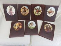 The Old West, Time-Life Books x 7 Cowboys / Indians / etc Leatherbound
