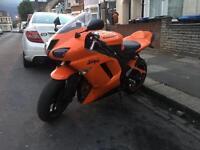 Kawasaki Ninja 600cc - Neon Orange - Akrapovic Exhaust - 2008