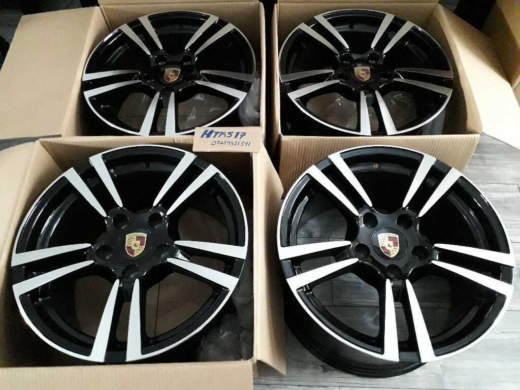 New Alloy Wheels 18 Inch Alloys 5x130 Fit Porsche Turbo 2 Boxster Cayman 911 997 996 Staggered In Barking London Gumtree