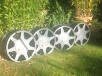 RARE 15'' MK2 MK1 GOLF POLO JETTA BMW CIVIC-GT ENGINEERING ALLOYS FOR SALE 4x100