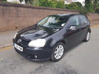 2005 55 Volkswagen Golf 2.0 GT Tdi Black 5 Door 140 6 Speed MK5 Black