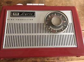 KB LYRIC WP21 Vintage retro radio