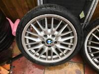 Bmw mv1 wheel 18 inch rear wheel £50