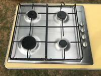 Stainless steel Bosch gas hob
