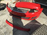 Ford Fiesta Zetec 2007 bumpers and rear spoiler
