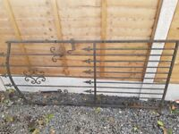 Wrought Iron Gate and Railings
