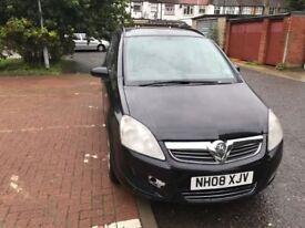 2008 Vauxhall Zafira 1.6 i 16v Life 5dr Manual 1.6L @07445775115@