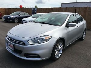 2013 DODGE DART SXT - ALLOYS, A/C, CD, KEYLESS ENTRY, POWER WIND