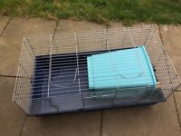 Large Indoor rabbit hutch + extra supplies