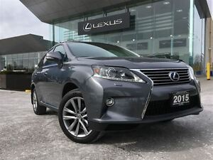 2015 Lexus RX 450H 1 Owner Sportdesign AWD Navi Back Up Cam Leat