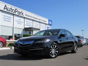 2015 Acura TLX 8-Spd DCT w/Technology Package| Nav| Sunroof