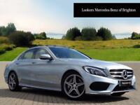 Mercedes-Benz C Class C250 D AMG LINE PREMIUM PLUS (silver) 2016-05-27