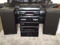 Kenwood Stereo System (Great Condition and High Quality System) Comes with all required leads