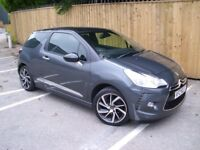 MINT 2015 CITROEN DS3 STYLE PLUS - ONLY 22000 MILES mini clio fiesta polo corsa a1 ka i20 500