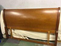 King Size Wooden Headboard