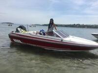Fletcher arrowhawk mercury 175 hp v6 speed boat