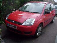 Fiesta 1.25 Runs / Drives / MOT Spares or repair