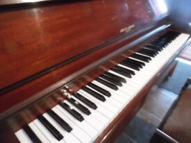 UPRIGHT PIANO BY BARRAT AND ROBINSON -also required-