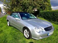 MERCEDES BENZ CONVERTIBLE CLK 240 AVANTGARDE AUTO THE VERY BEST EXAMLE / 67K FSH
