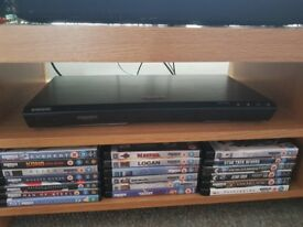 4k blu-ray player and 19 films